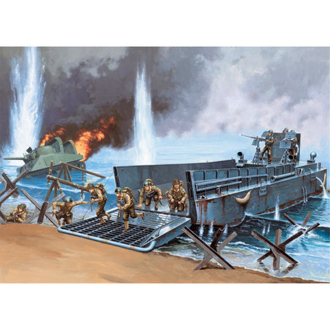 ITALERI 1/35 DDAY LCM 3 50FT LANDING CRAFT