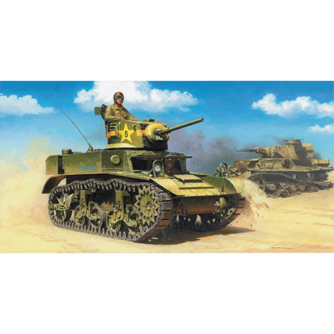 ITALERI 1/35 M3A1 Plastic Model Kit