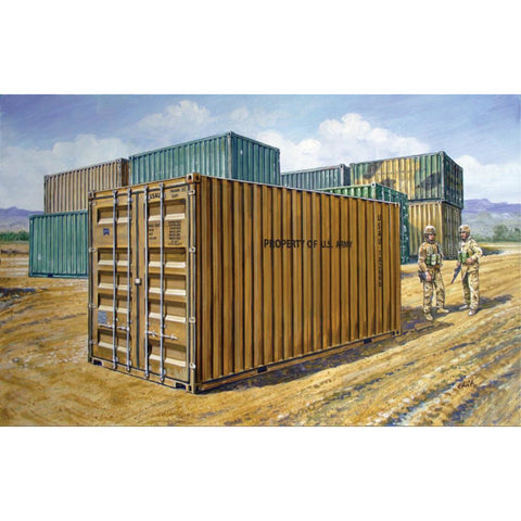 ITALERI 1/35 20 ' Military Container Plastic Model Kit