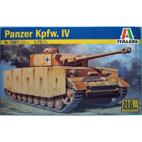 ITALERI 1/72 Pz. Kpfw. Iv Plastic Model Kit