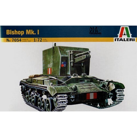 ITALERI 1/72 Bishop Mk.I Plastic Model Kit