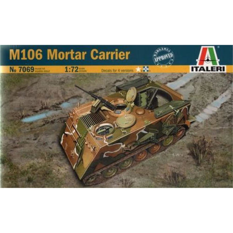 ITALERI 1/72 M106 Mortar Carrier Plastic Model Kit