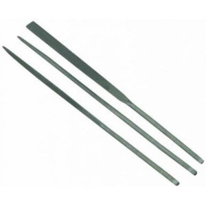 ITALERI 3 Pcs Mini Diamond File Set - 100mm Modelling Tool