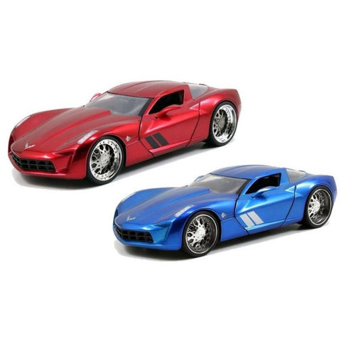 JADA 1:24 BTM 2009 Corvette Stingray Concept Atomic (JA9746