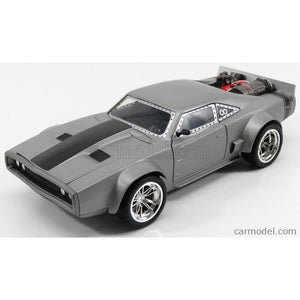 JADA 1:24 F&F Dom's Ice Charger - Fast n Furious Movie JA98