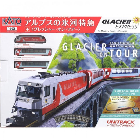 KATO  Passport Set Glacier Express (KA10-006)
