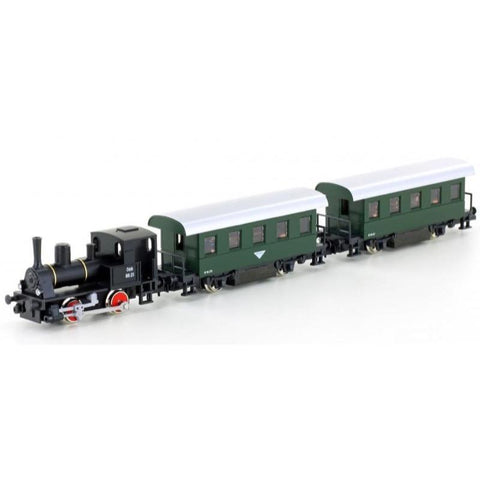 KATO N Steam Petit Loco A88 BR88 with 2 Coaches