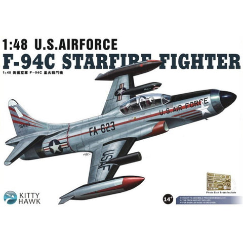 KITTY HAWK F-94C Shooting Star (KH80101) - Hearns Hobbies Melbourne - KITTY HAWK