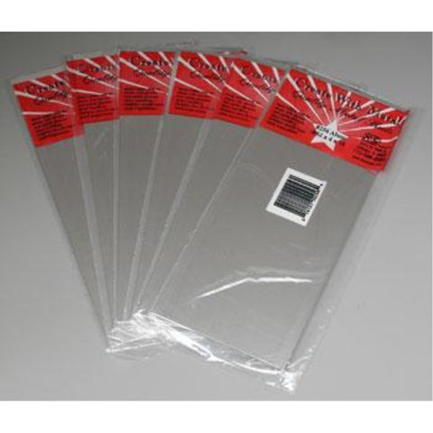 K&S ALUMINIUM SHEET METAL .032in - (1 SHEET PER BAG)