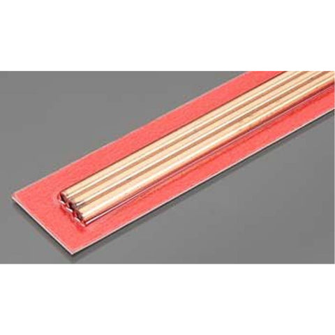 K&S COPPER TUBE 4mm OD X .36mm WALL - (3 PIECES)