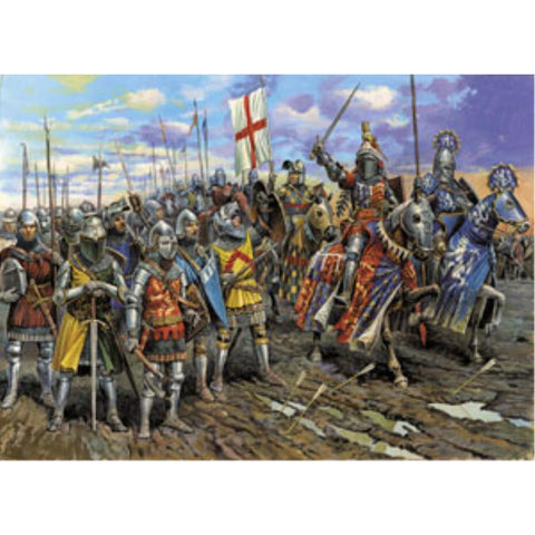 ZVEZDA 1/72 English Knights 100 Years War