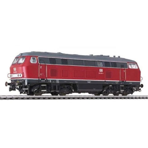 LILIPUT Diesel Locomotive BR 219 Red DB Ep.IV
