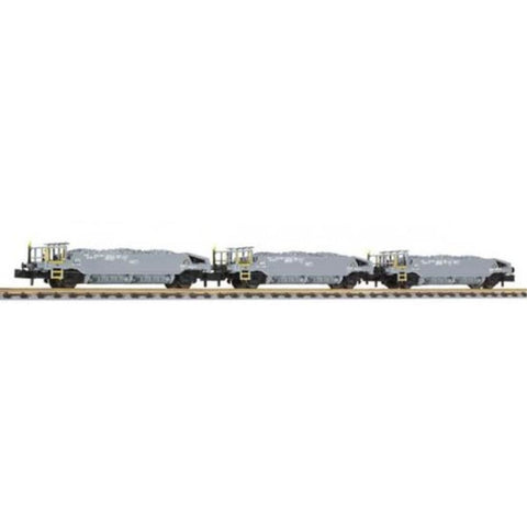 LILIPUT Hopper Wagon Set with Ballast SBB Ep.VI