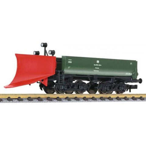 LILIPUT Snow Plough Green 'Bremen' DB Ep.IV