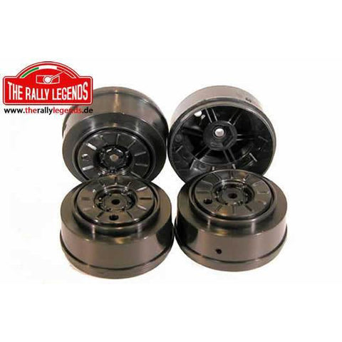 THE RALLY LEGENDS 1/12 Truck Wheels (Trakker) 4Pcs