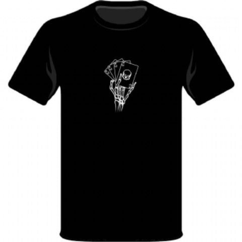 LMR Deadmans Hand T-Shirt - varied colours and sizes available(LMR1101DM)