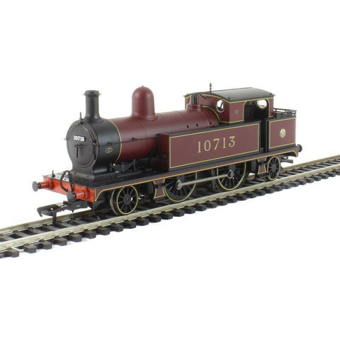 Branchline L&YR 2-4-2 Tank 10713 LMS Crimson : Available