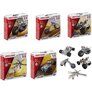 MECCANO 1 Model Starter Sets (5 Asst)