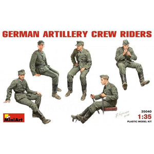 MINIART 1/35 German Artillery Crew Riders