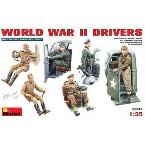 MINIART 1/35 WW II Drivers
