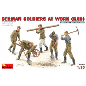 MINIART 1/35 German Soldiers at Work (RAD)