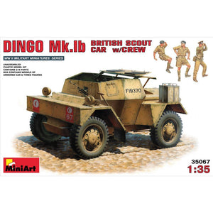 MINIART British Scout Car Dingo MK. 1b
