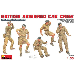 MINIART 1/35 British Armoured Car Crew