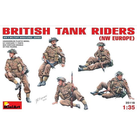 MINIART British Tank Riders (NW Europe)