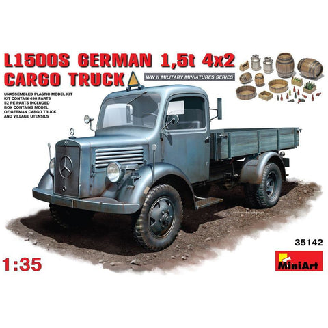 MINIARTL1500S. German 1,5t 4?2 Cargo Truck