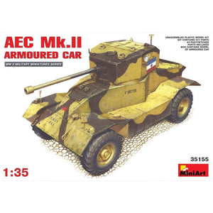 MINIART AEC Mk 2 Armoured Car