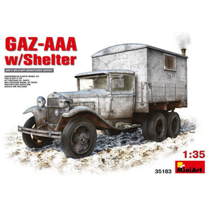 MINIART 1/35 GAZ-AAA with Shelter