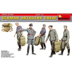 MINIART German Artillery Crew.Special Edition