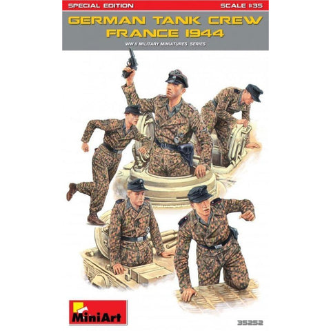 MINIART German Tank Crew (France 1944). Special Edition
