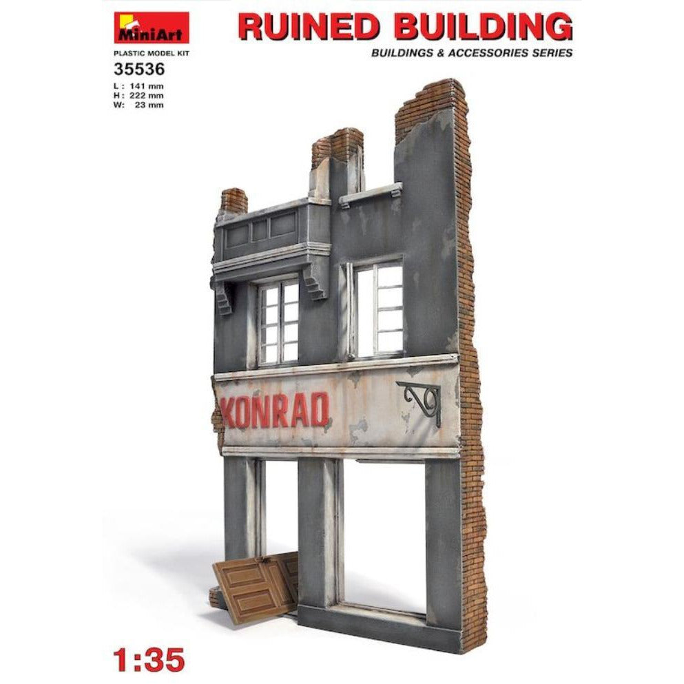 MINIART Ruined Building