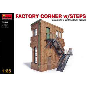 MINIART Factory Corner with steps