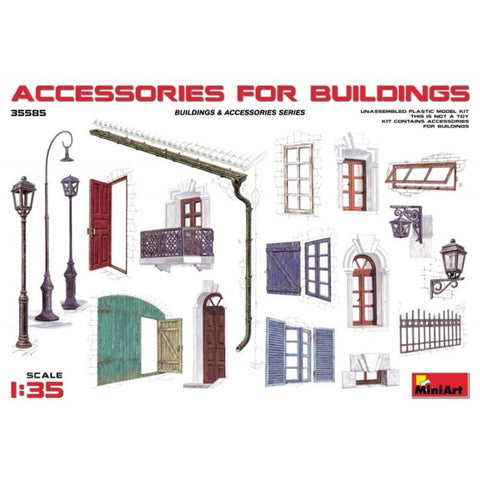 "MINIART ""Accessories for Buildings"