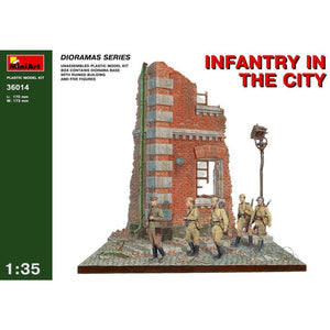 MINIART 1/35 Infantry in the City