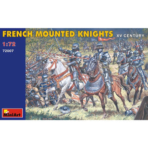 MINIART 1/72 French Mounted Knights. XV Century