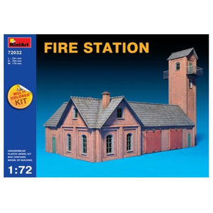 MINIART 1/72 Fire Station