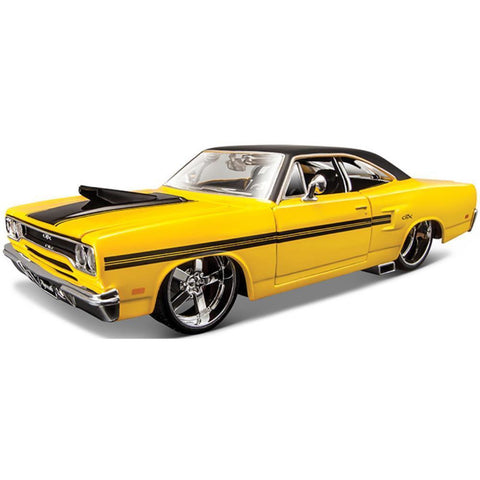 MAISTO 1:24 1970 Plymouth GTX (MA31016) - Hearns Hobbies Melbourne - MAISTO