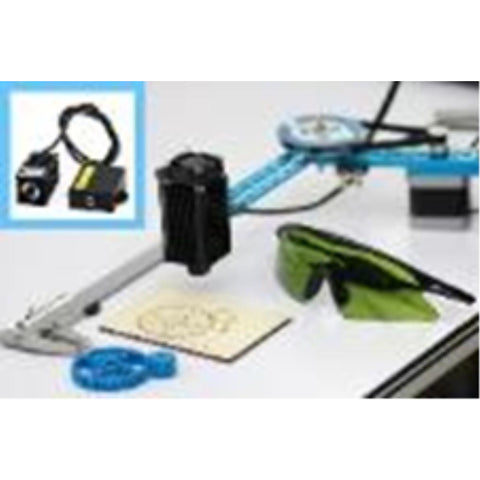 MAKEBLOCK mDrawBot with bluetooth and laser kit-Blue (MB-90092) - Hearns Hobbies Melbourne - MAKEBLOCK