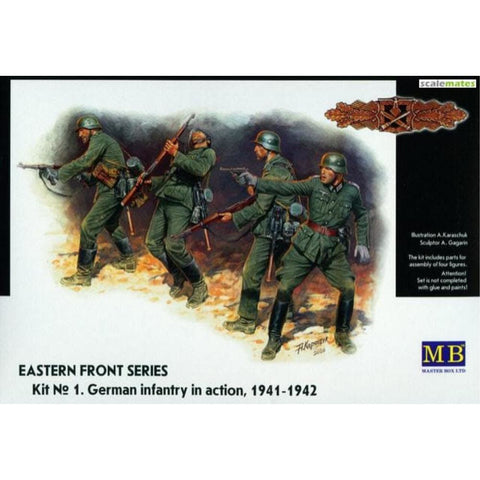 MASTER BOX 1/35 Eastern Front Kit #1 Ger. Inf 1942 (MB3522)