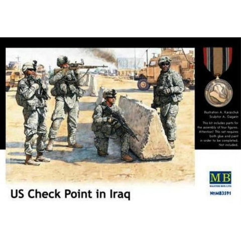 MASTER BOX 1/35 US Checkpoints Iraq War (MB3591)