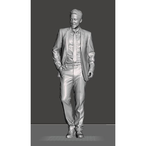 Hearns Workshop 1/35 Man in Suit