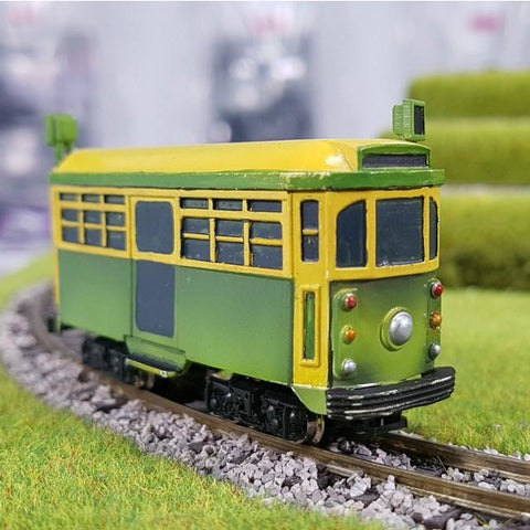 Image of HWS Comical W class Melbourne Tram body (for Kato N scale chassis)