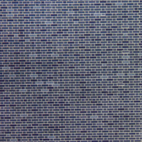 METCALFE Engineers Blue Brick (8 Sheets)
