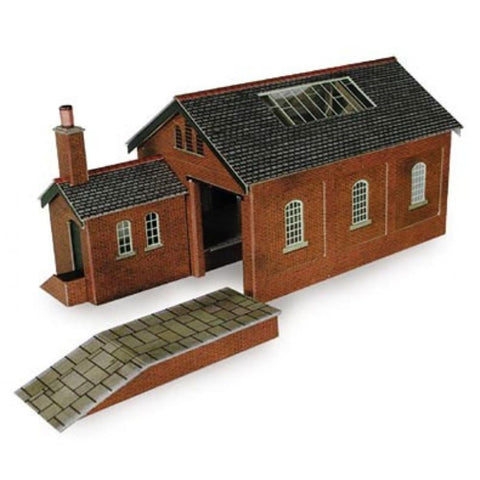 METCALFE Goods Shed N Scale