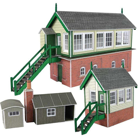 METCALFE Signal Box Set N Scale