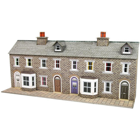 METCALFE N STONE TERRACED HOUSE FRONTS