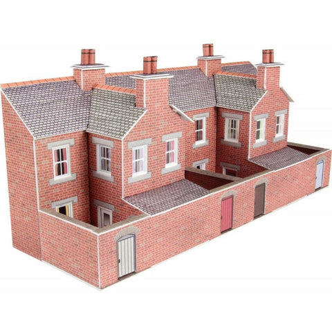 METCALFE LOW RELIEF TERRACED HOUSE BACKS BRICK